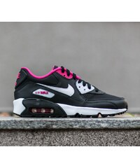Nike Air Max 90 Mesh (GS) Black/ White-Vivid Pink