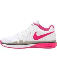 Nike Performance ZOOM VAPOR 9.5 TOUR CARPET Chaussures de tennis en salle blanc/rose vif