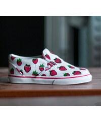 Vans T Classic Slip-On (Strawberries) True White