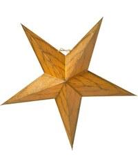 watt & VEKE Závěsná svítící hvězda Anis Gold 66 cm