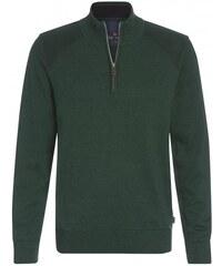 Paul R.Smith Herren Pullover Sweatshirt Comfort bequem grün aus Baumwolle