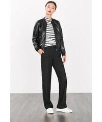 Esprit Ležérní strečové kalhoty, široké nohavice