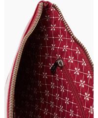 Esprit Pochette zippée en cuir de vachette
