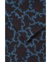 Esprit Kapesníček s potiskem paisley, 100% vlna