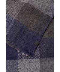 Esprit Écharpe à carreaux en coton mélangé