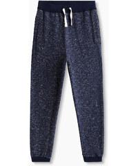 Esprit Pantalon coton molletonné, intérieur gratté