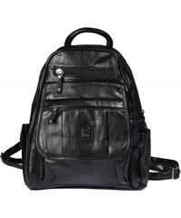 Batoh černý koženkový D220 {name}