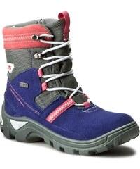 Sněhule BARTEK - 97139-17I Kobaltowo Różowy