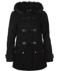 Kabát Kangol Classic Duffle dám. černá
