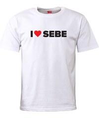 Pánské tričko ZOOT Originál I ♥ SEBE