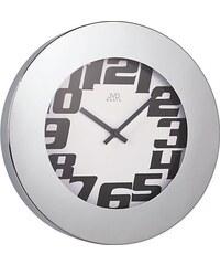 JVD Kovové nástěnné hodiny H91