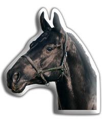 Polštářek Černý kůň
