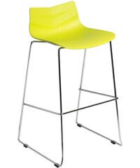 Limetová barová židle D2 Leaf
