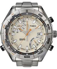 Timex - E-Altimeter s výškoměrem s kovovým řemínkem