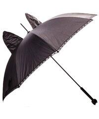 Lollipops Parapluie pailleté à oreilles de chat - noir