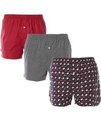 Lacoste Underwear Golf Flag - Lot de 3 caleçons - noir