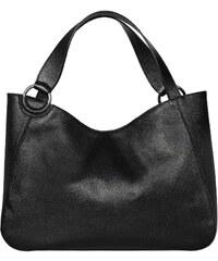 Silvio Tossi Lederhandtasche - schwarz