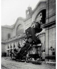 Nouvelles images L'accident de la gare Montparnasse, 1895 - Poster