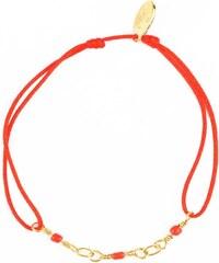 Nilaï Lien Jaipur - Bracelet cordon - rouge