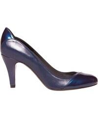 Bichette Louise - Escarpins en cuir - bleu