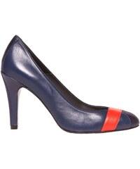 Bichette Magda - Escarpins en cuir - bleu