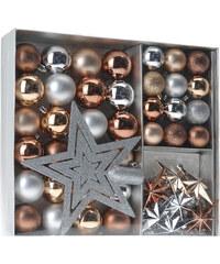 Lesara 45-teiliges Weihnachtsbaum-Deko-Set - Bronze