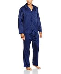 Seidensticker Herren Zweiteiliger Schlafanzug Pyjama Lang