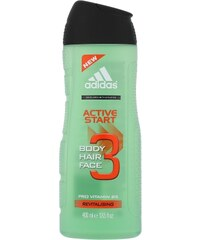 Adidas 3in1 Active Start 400ml Sprchový gel M