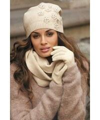 Kamea Dámské rukavice Marianella Beige béžová uni