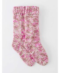 Baby Boden Grobstricksocken Pink Damen Boden