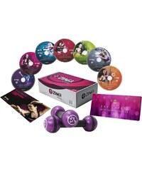 Zumba® Fitness Exhilarate DVD-Set mit Toning-Sticks, »Workout DVD Set« (7tlg.)