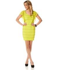 Siena Studio Lace dress, lemon