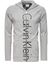 Calvin Klein šedá mikina Hooded Jacket