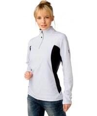 Killtec Fleece shirt, white-black