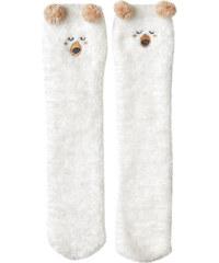 Chaussettes de maison ourson Etam