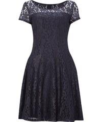 comma Kleid aus floraler Spitze
