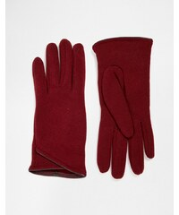 Totes Thermal Gloves With PU Trim - Rot
