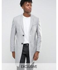 Noak - Eng geschnittener, eleganter Mantel - Grau