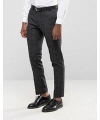 Noak - Enge Anzughose mit Sprenkeln - Grau