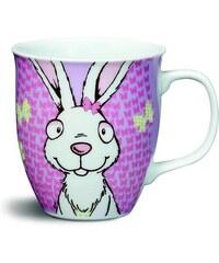 NICI - Hrnek bílý králík o9,5x10cm porcelán(39127)
