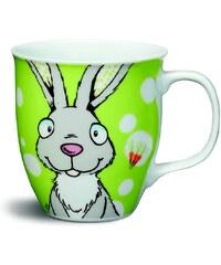 NICI - Hrnek světlešedý králík o9,5x10cm porcelán(39128)