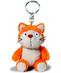 NICI - Klíčenka kočka Hungry oranžová 10cm, plyš(39019)