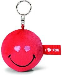 NICI - Klíčenka Smiley červená 6cm(35694)