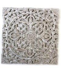 KERSTEN - Nástěná dekorace VINTAGE, natural, 58x1.6x58cm (LEV-4699)