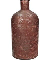 KERSTEN - Váza z recyklovaného skla, Marsala 13,5x13,5x28cm(WER-0617)