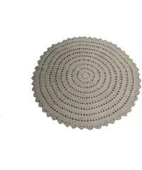 KERSTEN - Textilní koberec, přírodní 90x90cm(WER-1884)