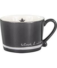 "Bastion collections - Hrnek ""Black& White coffee"" černá/bílá 200ml (RJ-MUG-BLACK-W-COF)"