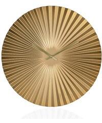 Andrea house - Zlaté hodiny ORIGAMI O50cm (AX16090)