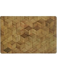 Andrea house - Prostírání, dřevěný efekt, PP/korek,43,5x28,5cm (MS16003)