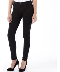 Jacqueline De Yong Womens Skinny Low Eagal Jeans Black